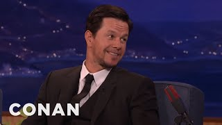 Mark Wahlberg On Meeting The Pope  - CONAN on TBS