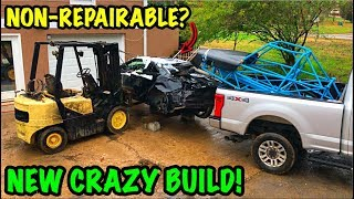 Turning A Salvage Car Into A Street Legal Race Car!!!
