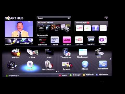 Samsung D7000 D8000 Smart TV