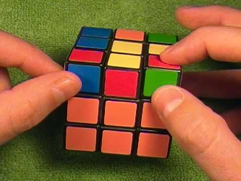 how to solve the lastlayer of a ribiks cube