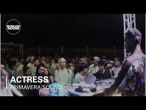 Actress Boiler Room x adidas Originals DJ Set at Primavera Sound