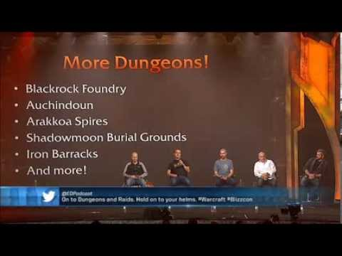 WoW: Warlords of Draenor, the entire Blizzcon WoW panel.