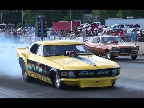 Nostalgic funny cars round 2 cecil 6-14-14