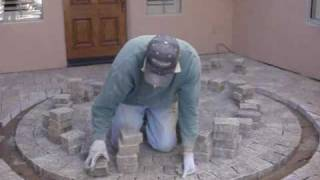 How To Cut In A Paver Circle Part 2