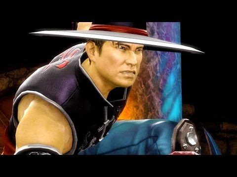 Mortal Kombat 9 - Kung Lao Hat Trick Fatality on all Characters 4K 60FPS Gameplay Fatalities Mods