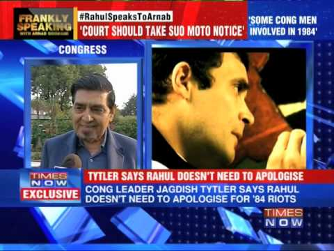 Congress doesn't need to apologise: Congress leader Jagdish Tytler
