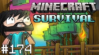 Minecraft : Survival Cow Hunting #174