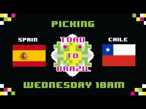 TOAD TO BRAZIL 2014 WORLD CUP PREDICTION | Spain vs. Chile | FCDTV
