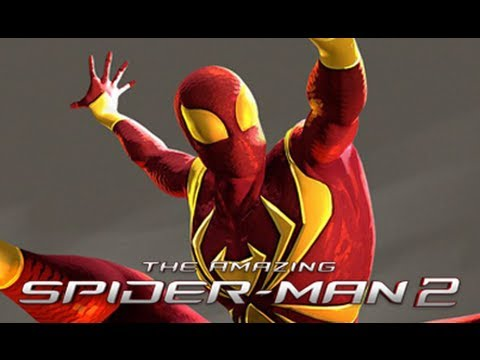 Iron Spider Suit Perks In The Amazing Spider-Man 2 Game Revealed