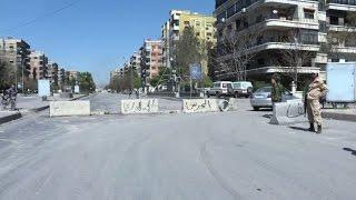 طاولات زهر وكرة قدم في حي دمشقي بعد أسبوع من المعارك | قنوات أخرى