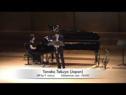 3rd JMLISC Tanaka Takuya (Japan) SPP by P. Leroux