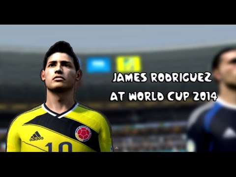 James Rodríguez at World Cup 2014 (FIFA 14 Edit)