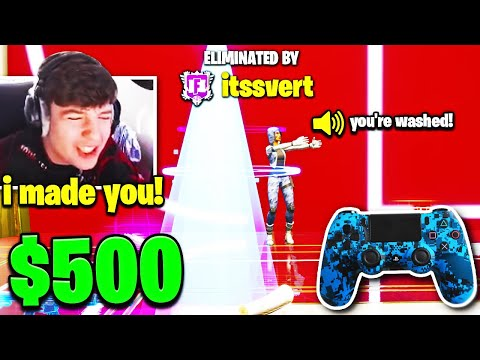 CLIX *REMATCHES* TOXIC KID that RUINED 107-0 BOX FIGHT RECORD! (Fortnite)