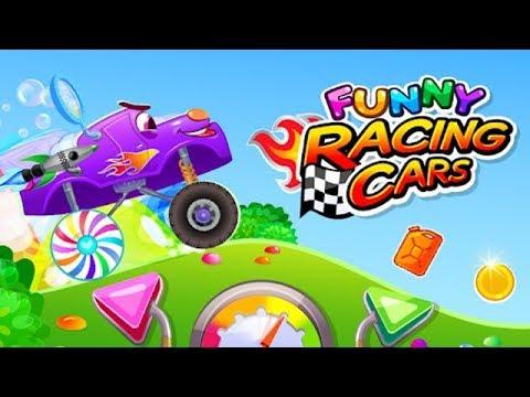 Funny Racing Cars Веселые гоночные автомобили Тюнинг и Первая Локация