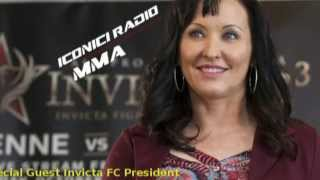 Shannon Knapp Iconici Radio MMA Interview