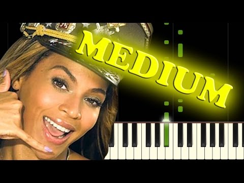 BEYONCE - LOVE ON TOP - Piano Tutorial