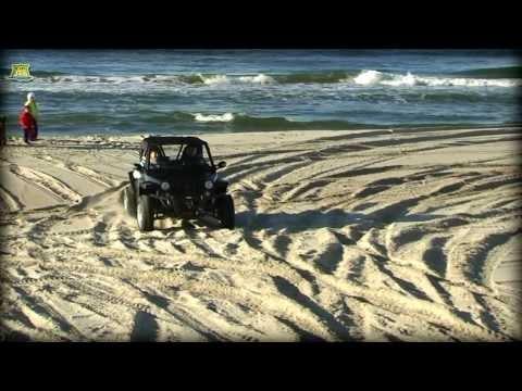 FJ car Mini Jeep Discovery test-drive