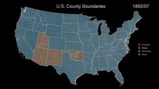 Territorial Evolution Of The USA: 400 Years Of History