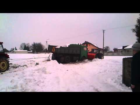 Wyciąganie Jelcza ||luty2013, Ursus C-360 ,C-360 3P ,C-330||