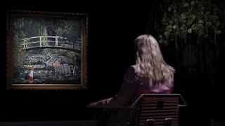 """لوحة أرني الـ """"مونيه"""" للفنان المجهول"""
