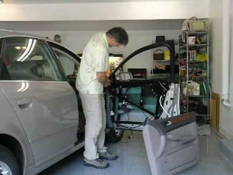 Audi a6 power window repair youtube for Power window motor replacement cost