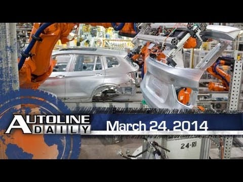 BMW X7 Production Headed to South Carolina - Autoline Daily 1340