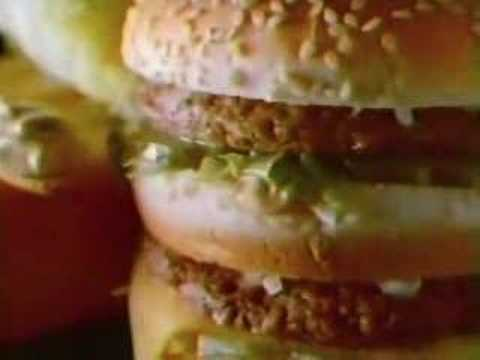 1984 McDonald's Big Mac Commercial, Let the Supersizing Begin! Originally recorded on VHS tape from KWTV, channel 9 in Oklahoma City, on October 22, 1984.