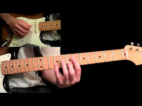 Eric Johnson - Manhattan Guitar Lesson Pt.6 - Bridge &amp; 3rd B Section