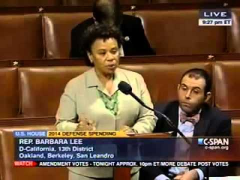 Congresswoman Barbara Lee Speaks on Defense Spending, Proposed 1% Cut to Pentagon Spending