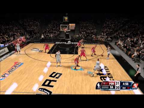 NBA 2K14: NBA PLAYOFFS SPURS V BLAZERS