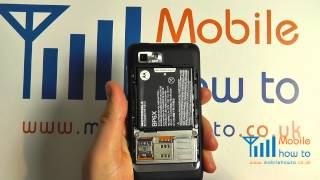 How To Remove Battery/Back Cover Motorola MOTOLUXE