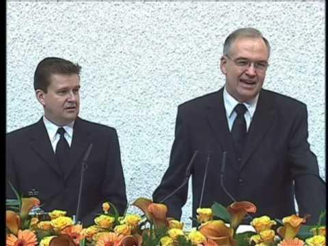 Foto: Pfingsten 2005: Neuer Stammapostel