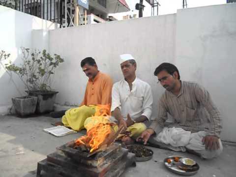 Mangal Graha Shanti Puja for Nishad Gumaste by aapkikundli.com - Homam