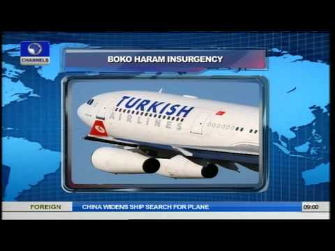 Boko Haram: Turkish Airlines Denies Carrying Weapons To Nigeria