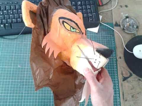 Animales Mascaras de Papel