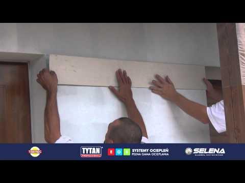 Tytan - Jak wykonać tynk o strukturze drewna?