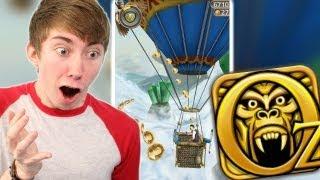 Temple Run: Oz HOT AIR BALLOON Part 4 (iPhone Gameplay