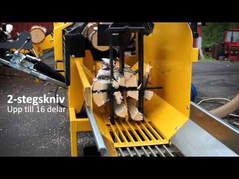 2013 KUBIK2 Vedfabrik - Effektiv vedmaskin för produktion av brasved. Firewood processor - Brennholz