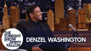 Denzel Washington Wonders Where Exactly Drake Tattooed His Face