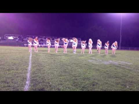 Varsity Raiderettes - Applause 10/11/13