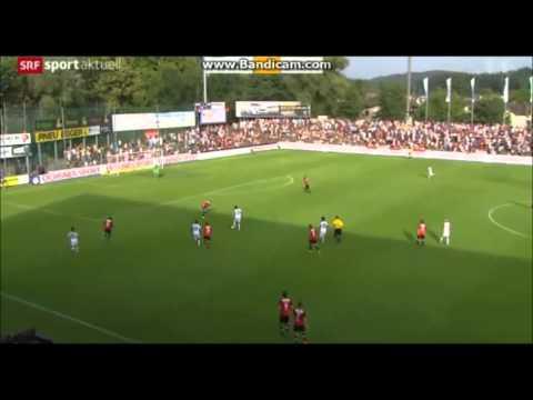 FC Aarau vs. FC Basel (1:2) - 19.07.2014 - Highlights
