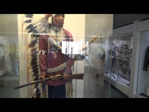 Biker Lawyer inside the Little Bighorn Museam raw video 6