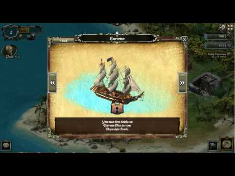 Pirates of the Caribbean Island of War (Facebook) Gameplay Part 2
