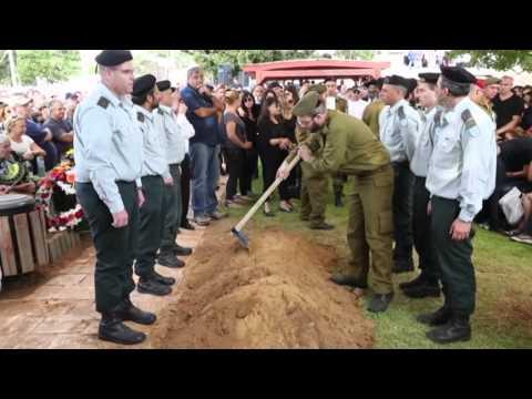 تشييع جنازة الجندي الاسرائيلي