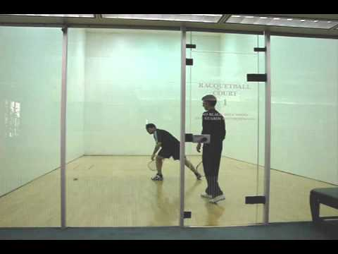How to Play Racquetball - Gameplay Analysis for Joseph