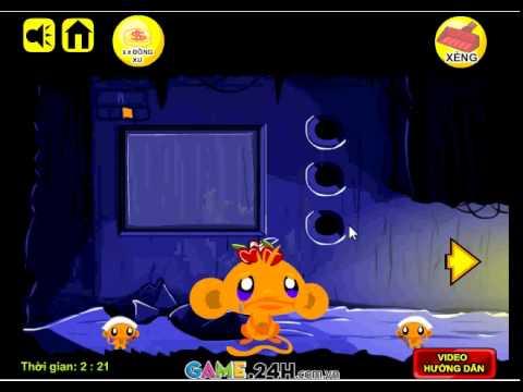 Game chú khỉ buồn 26 - Làm chú khỉ vui cười