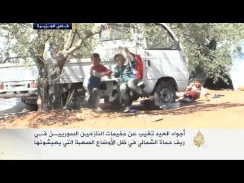 أجواء العيد تغيب عن مخيمات النازحين السوريين