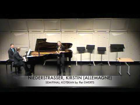 NIEDERSTRASSER, KIRSTIN (ALLEMAGNE) kotekan Piet SWERTS