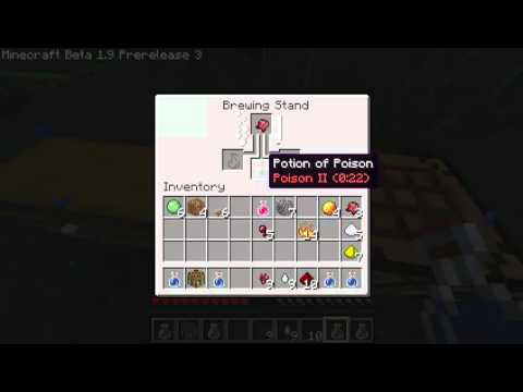 how to make a healing potion in minecraft 1.9