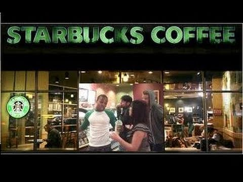 Todrick Hall sings Starbucks Follow @toddyrockstar on Instagram!!!